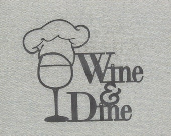 Wine and Dine Wall Art Decor