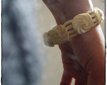 Bracelet en bakelite
