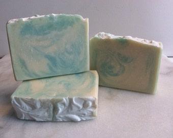Clean Cotton Cold Process Soap