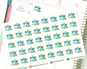 PRINTED Sewing stickers. Sewing machine, stitching, stickers. For Erin Condren Planner. Stickers, calendar stickers (Item #031)