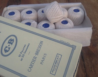 Vintage French cotton in presentation box