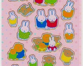 Miffy Stickers - Family - Hallmark - Reference B2442A2999-3000H3270-71A3779