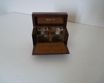 CHANEL - very rare, small box in Burr Walnut-30s vintage