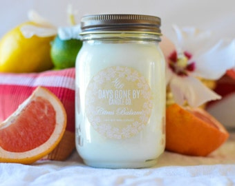 Citrus Balsam 14oz Soy Wax Candle
