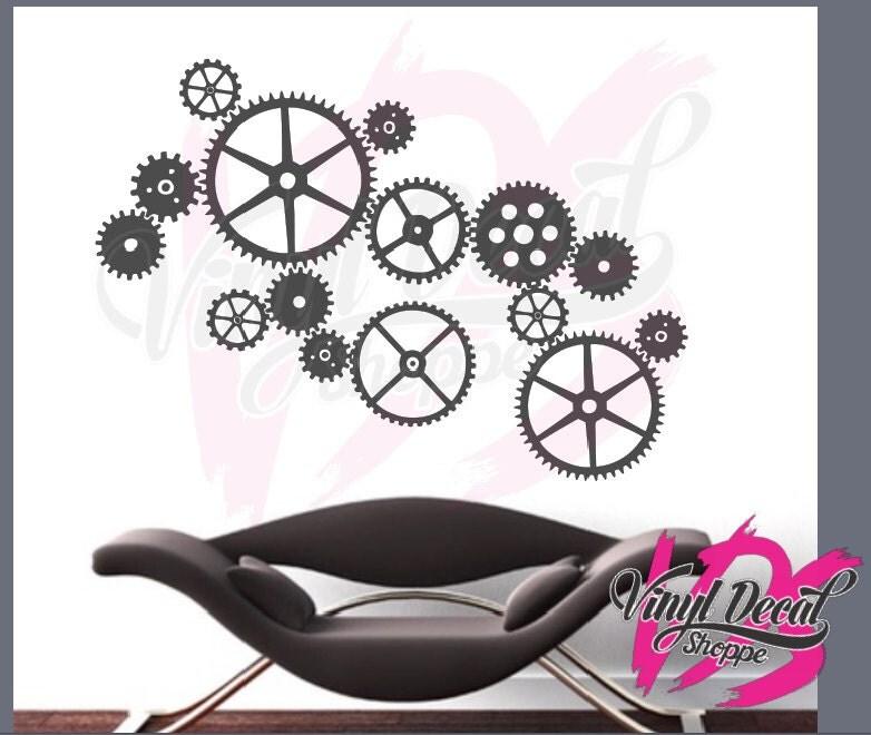 stickers style industriel latest la chambre duado. Black Bedroom Furniture Sets. Home Design Ideas