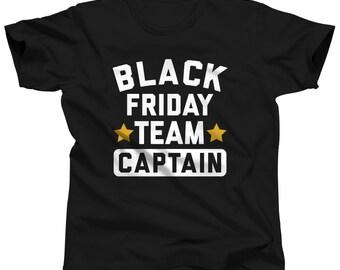 Black Friday Team Captain - Funny Black Friday Shirt - Thanksgiving Shirt - Christmas Shopping - Black Friday Tshirt - Black Friday Pro