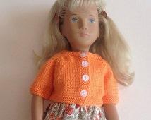 Sasha Doll Essential Cardigan - Citrus Collection - Orange