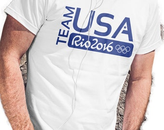 Team USA Rio 2016 Olympic T-Shirt - Support America!