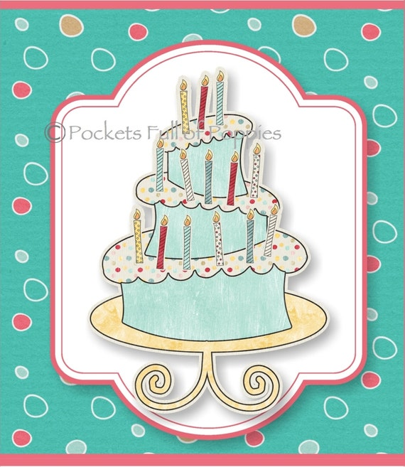 Printable Gift Card Holder Happy Birthday By