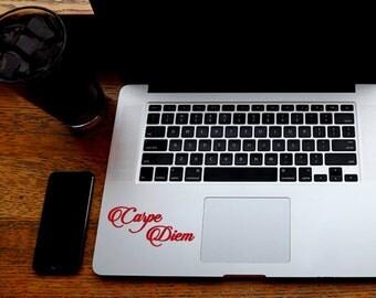 SUMMER SALE! Carpe Diem Laptop Vinyl Decal Sticker carpe diem decal pinterest sticker