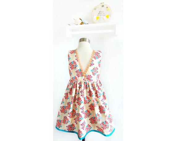 Size 4 Girls Party Dresses Little Girls Cute Dress Girls
