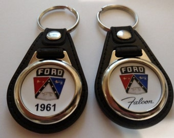 1961 FORD FALCON keychain 2 pack