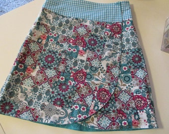 Winding skirt for women, two in one