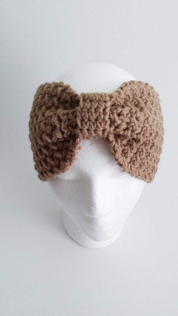 Crochet Bow-Like Adult Women Headband Unique Gifts for Her Best Friend Gift Boho Headband Women Adult Gift for Her Birthday Gifts for Women