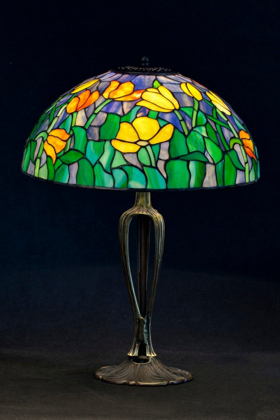 Table Lamp, Desk Lamp, Stained Glass Lamp, Tiffany Lamp, Tiffany Lamp Replica, Stained Glass Table Lamp, Desk Lamp, Bedside Lamp, Home Decor