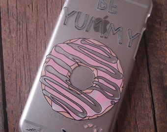 "Donut ""Be Yummy"" iPhone 6 & 6s slim case"
