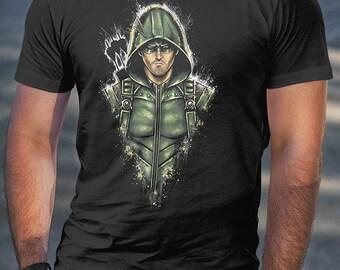 The Green Arrow Shirt | PREMIUM QUALITY | cw | Stephen Amell | DC Comics | Superhero | Comic | Geek Clothing | T-Shirt