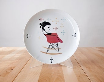 Ray Eames Plate