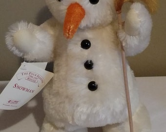 "Steiff LE ""Snowman"" First in 4 Seasons Series 13"" EAN 665172"