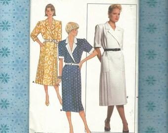 Butterick 4628~ Misses Day Dress Pattern Size 16 Complete & Uncut