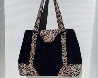 Cheetah Harriet Handbag