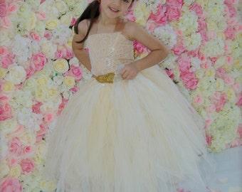 flower girl dress, tutu flower girl dress, champaign flower girl dress, gold flower girl  dress, flower girl,  tutu dress, girls dress