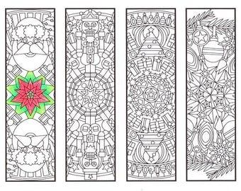 christmas coloring bookmarks christmas mandalas coloring for adults big kids and your resident - Christmas Mandalas Coloring Book
