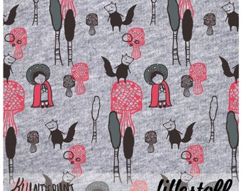 """ecological fabric: """"Little Red Riding Hood"""""""