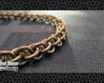 Hypoallergenic Jens Pind necklace 14G (1.6mm) Niobium (bronze*)