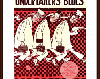 Undertakers' Blues from the book Memory Lane