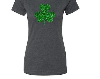 Shamrock Shirt.  St. Patrick Day Shirt. Women's St. Patrick Day Shirt. Irish Shirt.  Ireland Shirt.