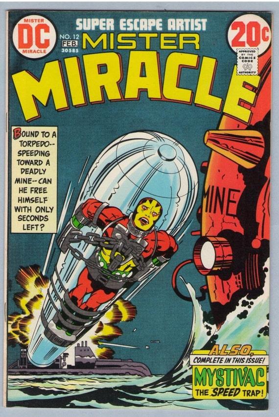 Mr. Miracle 12 Feb 1973 VF-NM (9.0)