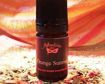Orange Sunrise essential oil blend
