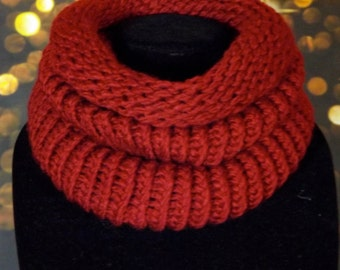 Red Eternity Scarf