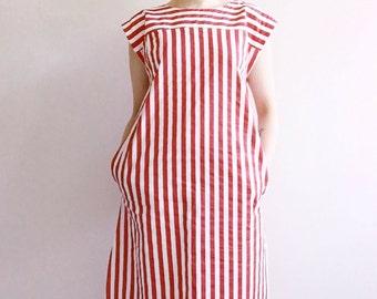 Re-designed vintage cotton dress