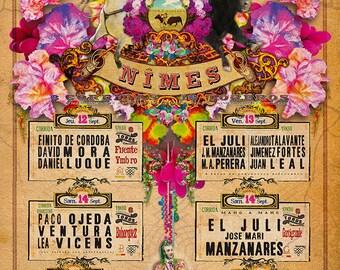 Poster 2013 Feria des vendanges de Nîmes