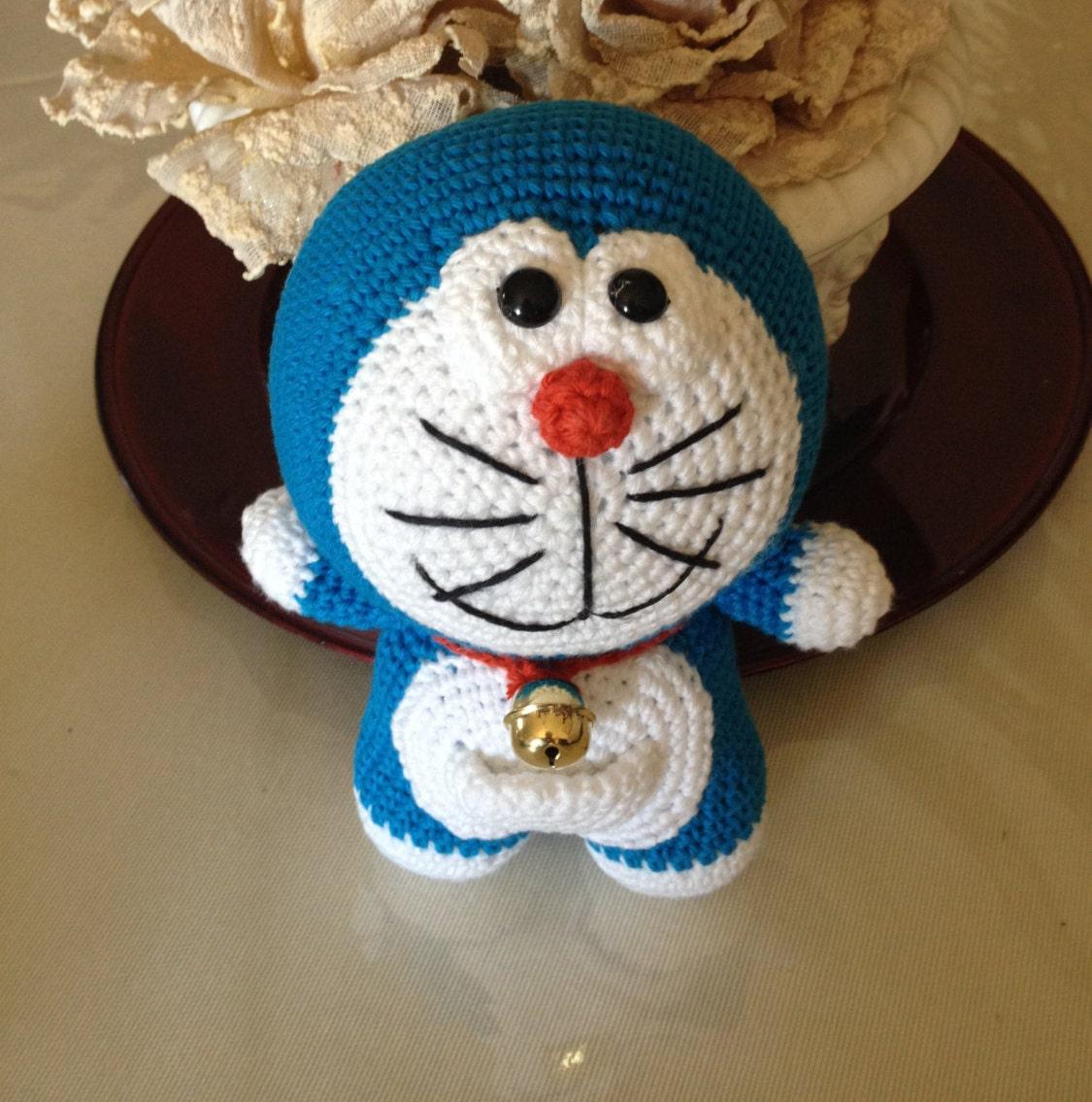 Amigurumi Doraemon Tutorial : Doraemon amigurumi Doraemon bambola animale cartoon by ...
