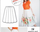 Pleated Skirt - Sewing and Pattern Drafting Tutorial