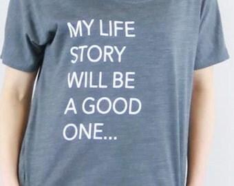 My Life Story Slouchy Tee