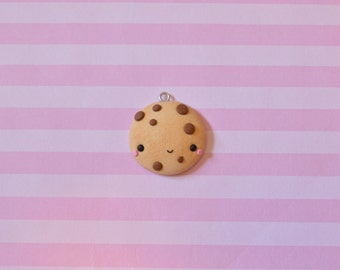 Kawaii Cookie, Polymer Clay Charm, Kawaii Charm, Cookie Charm, Food Charm, Cute Cookie, Cookie gift, Kawaii Food