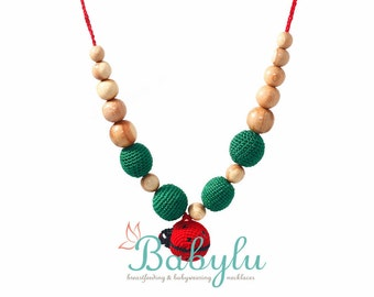 Lady Bird Nursing/Teething Necklace