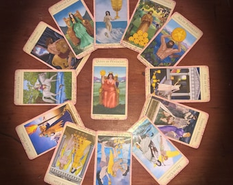 Year Reading - Tarot Cards!