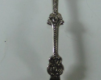 Vintage Holland 5 Cent Collectible Souvenir Spoon with Windmill on the Spoon