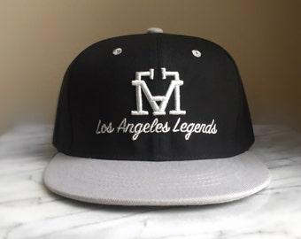 "Classic ""LAL"" Snapback. HOT NEW Hip Hop Fashion"