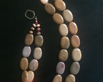 Red Dust Necklace