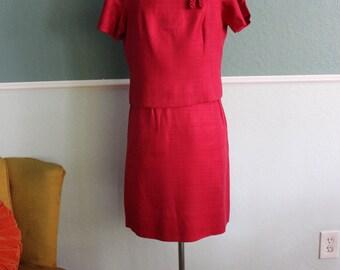 1960s Jackie-O Dress Mini Suit