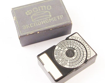 OPTEK Vintage Russian Light Meter BOX