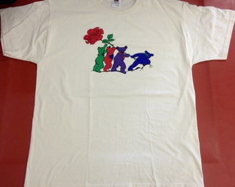 Iwa Jima Grateful Dead Bears T-Shirt