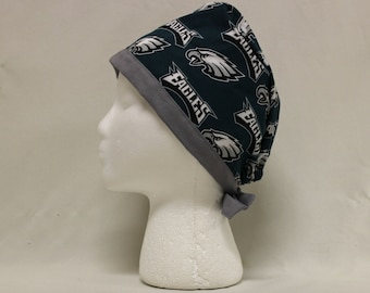 Green Philly Sports Ball Surgical Dentist Scrub Cap Chemo Hat