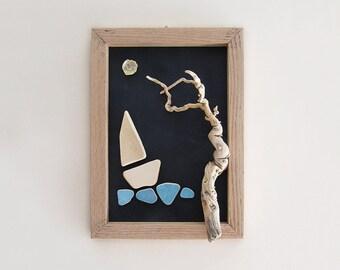 Sea frame_ Night sailing